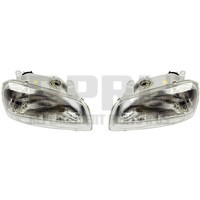 1996 1997 Toyota Rav4 Headlights Pair Left/Right Nice