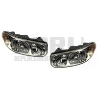 2000-2005 Buick Lesabre Headlights New Pair Limited W/Cornering Nice