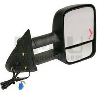 GM Telescopic Dual Arm Power Towing Mirror W/Glass Right Passenger With Turn Signal 2003-2007 Classic