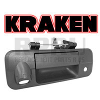 Kraken Brand Tailgate Handle With Camera Hole Keyhole For Toyota Tundra 2007-2013