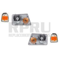 Headlights Turn Signal Lights For Ford Ranger 2006-2011 Nice