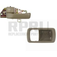 Inside Interior Door Handle And Bezel Left Driver Beige/Tan
