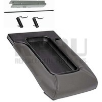 DORMAN Center Console Lid Kit Dark Gray Front Row Seats W/Split Bench Seats