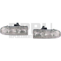 New Headlights Pair For Chevy S10 And Blazer 1998-2004 Left Right