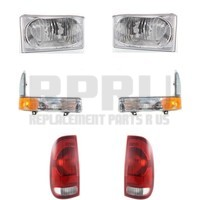 Headlights Turn Signals Tail Lights For Ford Super Duty Truck 1999-2004 Nice