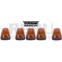 Chevy GMC Truck Kodiak Topkick Cab Roof Markers Clearance Running Lights Set/5
