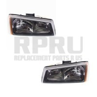 2005 2006 Chevy Silverado Truck Headlights Pair Left/Right 2007 Classic Nice