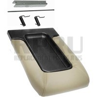 DORMAN Center Console Lid Kit Tan Front Row Seats W/Split Bench Seats
