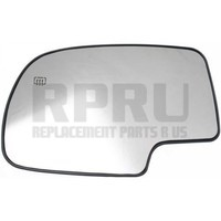 99-06 Chevy GMC Truck Mirror Glass With Heat 01-06 Tahoe Suburban Yukon Left