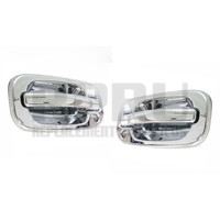 1999-2006 Chevy Gmc Truck 2007 Classic Outside Door Handles Chrome Front Pair