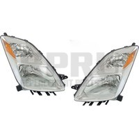Headlights For Toyota Prius 2004 2005 2006 Without Hid Pair To 11/2005