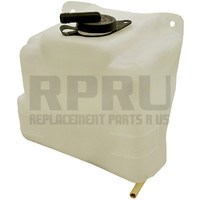 Coolant Reservoir Recovery Tank With Cap W/O Sensor