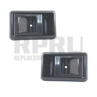 Pair Black Inside Door Handles For Toyota Truck 89-95 Tacoma 95-00 Left/Right