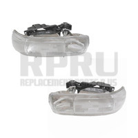 1999-2002 Chevy Silverado Truck Headlights Pair Left/Right 00-06 Tahoe Suburban