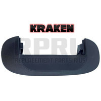 Kraken Brand Tailgate Handle Bezel For Dodge Truck 1994-2001 Black Textured 94-02 2500 3500