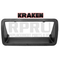 Kraken Brand 1994-2004 Chevy S10 GMC Sonoma Tailgate Latch Handle Bezel Textured