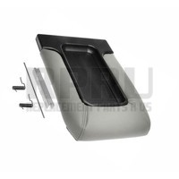 New Console Lid For Silverado Sierra Avalanche Tahoe Split Bench Seat Light Gray