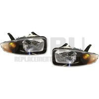 2003 2004 2005 Chevy Cavalier Headlights New Pair Left/Right Nice