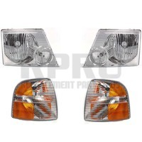 Headlights Turn Signal Lights For Ford Explorer 4 Door 2002 2003 2004 2005