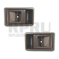 Pair Brown Inside Door Handles For Toyota Truck 89-95 Tacoma 95-00 Left/Right