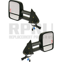Power Towing Mirrors With Signal Pair For 2003-2006 Silverdao Sierra 2007 Classic