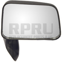 Toyota Truck Manual Mirror With Vent Window Black Right Passenger
