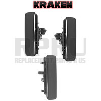 Kraken Brand Front Pair And Rear Cargo Door Metal Outside Door Handles For Astro Safari 85-05