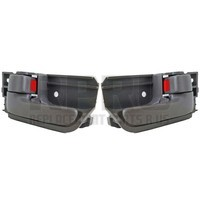 Pair Black Inside Door Handles For Toyota Corolla 2003-2008 Fits Tacoma 2005-2012
