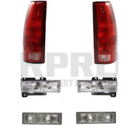Headlights Park Lights Tail Lights For Chevy GMC Truck 1990-1993 Suburban 92-93