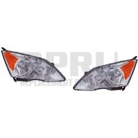 Headlights For Honda CRV CR-V 2007 2008 2009 2010 2011 Pair Nice