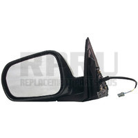 Acura RSX Power Mirror With Glass Black W/O Heat 02-06