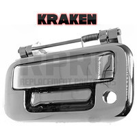 Kraken Brand 08-14 Super Duty Tailgate Latch Handle Chrome 05-14 F150 07-10 Sport Trac