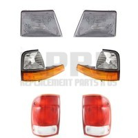 Headlights Turn Signal Lights Tail Lights For Ford Ranger 2000 Only Nice