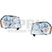 Headlights For Grand Cherokee 2005 2006 2007 Pair Left And Right