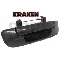 Kraken Brand Dodge Ram Tailgate Handle Black Smooth