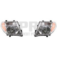 New Pair Headlights For Nissan Frontier 2005-2008 For Pathfinder 2005-2007