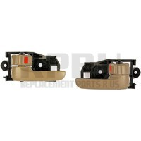 Inside Interior Door Handles Left/Right Pair Tan