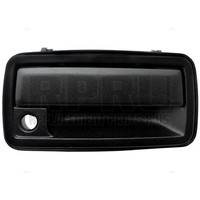 Black Metal Outside Door Handle Right Front Textured Finish