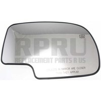 99-06 Chevy GMC Truck Mirror Glass With Heat 01-06 Tahoe Suburban Yukon Right