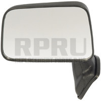 Toyota Truck Manual Mirror With Vent Window Black Left Driver