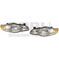 2000-2005 Chevy Monte Carlo Headlights New Pair Left/Right Nice