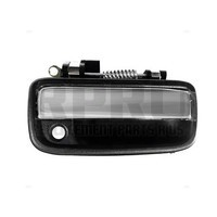 Right Front Outside Door Handle Fits Toyota Tacoma 1995-2004 Black / Chrome