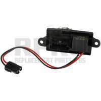 Air Conditioning Blower Motor Resistor RPO (D07) With Rear Vents In Center Console