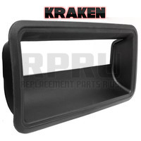 Kraken Brand Chevy GMC Truck Tailgate Latch Handle Bezel Black
